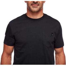 Black Diamond Crag T-Shirt z kieszonką Mężczyźni, black